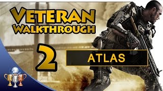 Call of Duty Advanced Warfare - Part 2 Atlas - Veteran Walkthrough [60fps]