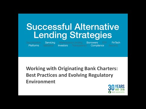 Working with Originating Bank Charters