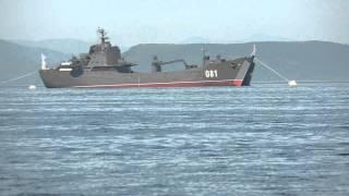 Русские военные корабли ВМФ в заливе / Russian Navy warships in the Gulf