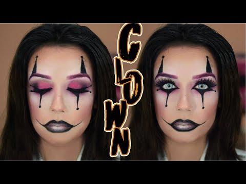Easy Halloween Clown Makeup Tutorial