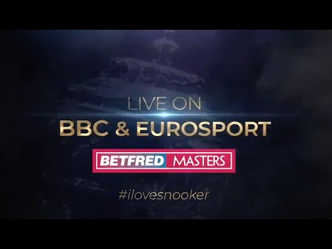 Are you ready for the Betfred Masters? Starts Sunday LIVE on BBC & Eurosport!
