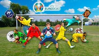 🧤 RICREO le TECNICHE SEGRETE dei PORTIERI di EURO2020! (Donnarumma, Schmeichel, Neuer ..)