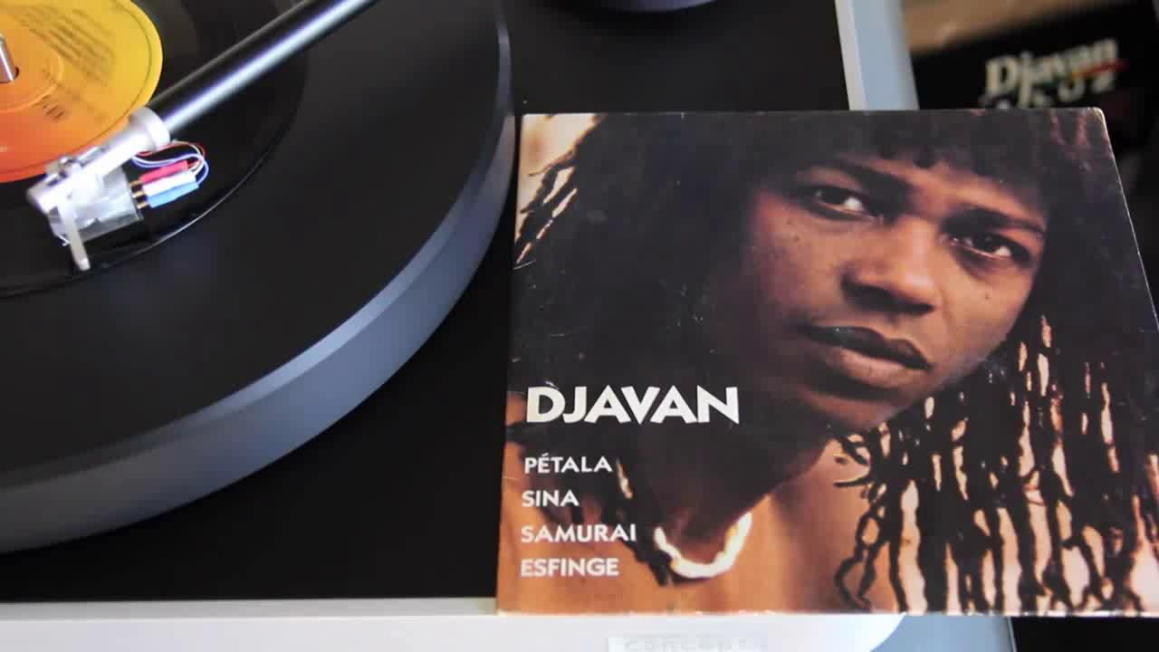 Djavan  Samurai vInyl  33.1/3 RPM