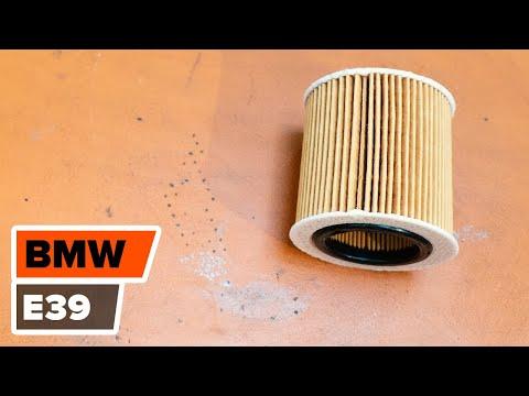 Kuinka Vaihta Moottoriöljy Ja öljynsuodatin BMW 5 E39 -merkkiseen Autoon OHJEVIDEO | AUTODOC