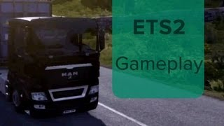 EURO TRUCK SIMULATOR 2 GAMEPLAY ON ALEX'S COMPUTER