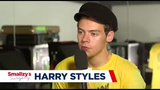 Harry Styles Chats to Smallzy About His Christmas Plans