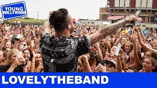 Whose Lips Are on The Cover of lovelytheband's Album?! Video