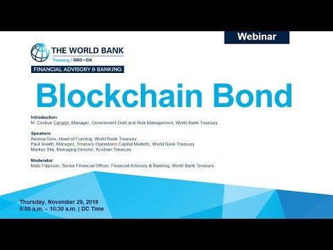 Webinar on Blockchain Bond World Bank Treasury