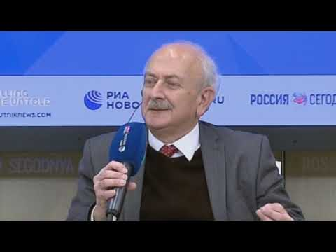 مؤتمر صحفي للرفيق سلم علي في موسكو حول الانتفاضة في العراق  - 11:00-2019 / 12 / 4