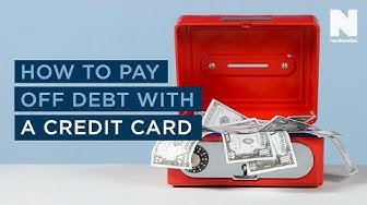 How to pay off debt with a credit card