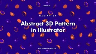 Making of 3D Pattern in Illustrator
