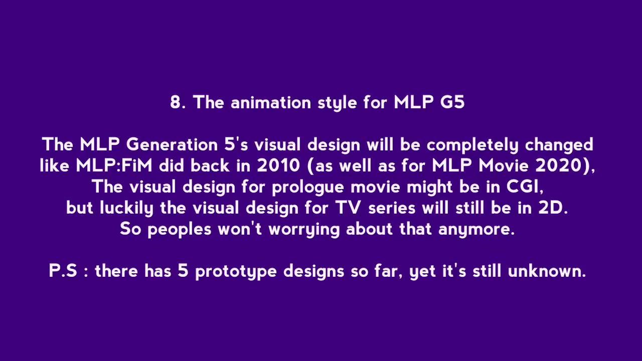 Summarising the Leaks of MLP G5! - смотреть онлайн на Hah Life