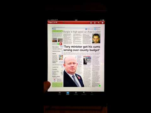 Oxford Mail+ video for iPad and iPhone