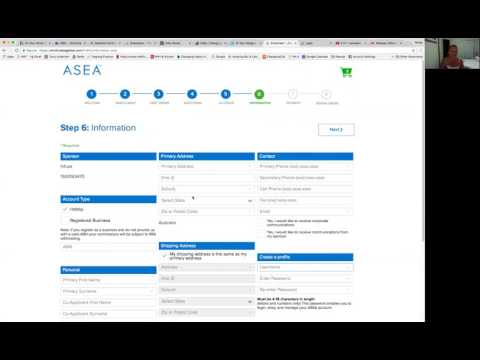 How to Set Up Your Account and Order ASEA products