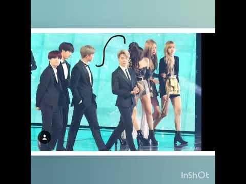 RM&JISOO All MOMENTS NamSoo MOMENTS(NamJoon BTS) (Jisoo BLACKPINK)  #BangTanPink #NamSoo#RmSoo