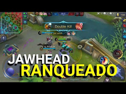 Mobile Legends - JAWHEAD RANKED / Gameplay + BUILD