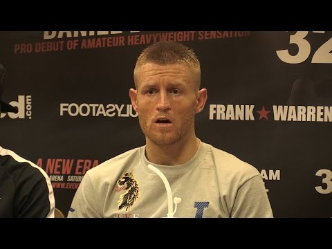 WBO Champ Flanagan Targets Superstar Opponents - Press Conference