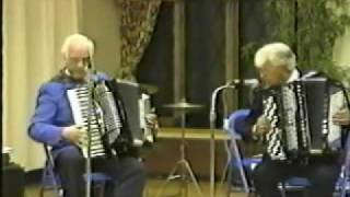 (8) Walter Eriksson & Hasse Tellemar  - Accordion Concert 1991 - Vasa Park NJ