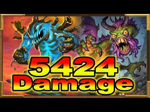 Hearthstone: 5424 Damage TTK Shudderwock With Quest Shaman And Faceless Lurker | Saviors Of Uldum
