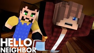 Minecraft Hello Neighbor - What Secrets Is He Hiding In The Basement (Minecraft Roleplay)