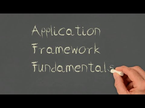 About the Application Framework TAM Fundamentals Course