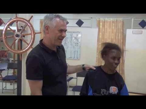 Ethiopian Physical Therapy NeuroMuscular Taping Rehabilitation Tutorial N°1