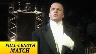 فيديو نادر- في عيد ميلاده الـ 47: شاهد تريبل إتش في أول مباراة له بداخل WWE