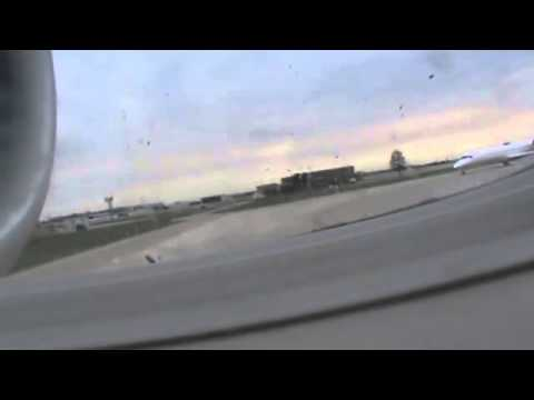 take off from Dayton international airport