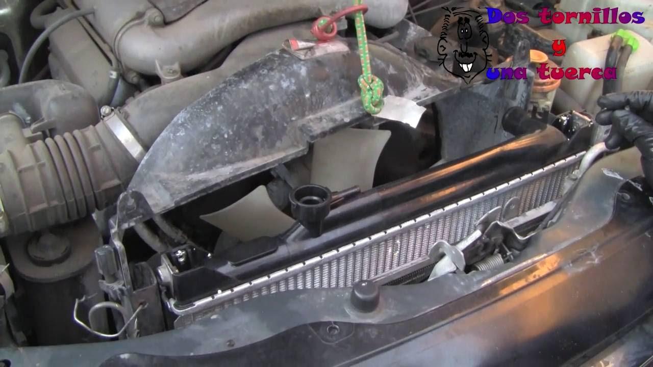 Como Cambiar un Radiador Suzuki Grand Vitara 2.4 1999 Paso ...