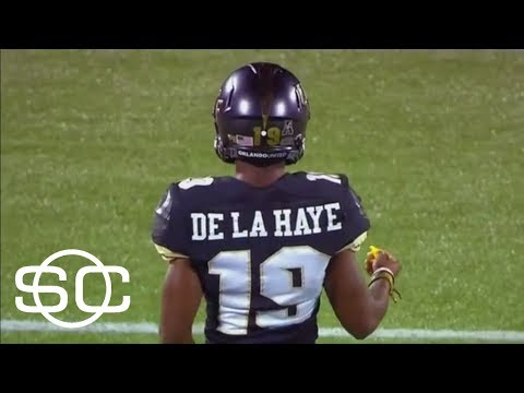 NCAA Rules UCF Kicker Ineligible Due To YouTube Channel | SportsCenter | ESPN