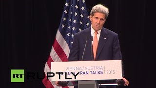 LIVE: Kerry speaks to press after nuclear talks agreement
