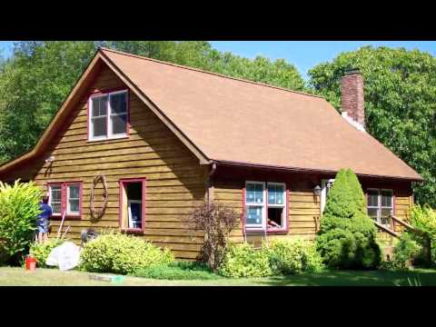Installing Replacement Windows In Real Log Cabin Renewal