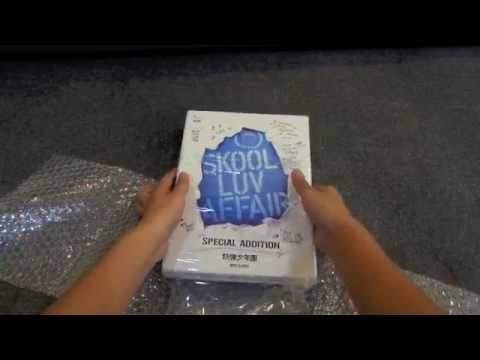 Unboxing BTS - Skool Luv Affair Special Addition