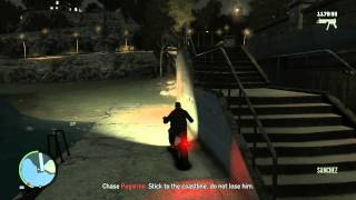 GTA IV - Out Of Commission  (Final Mission) + How to solve climbing into chopper bug