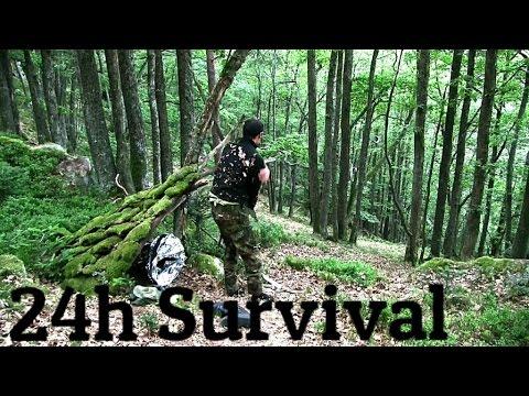 24H SURVIVAL TRAINING IM WALD