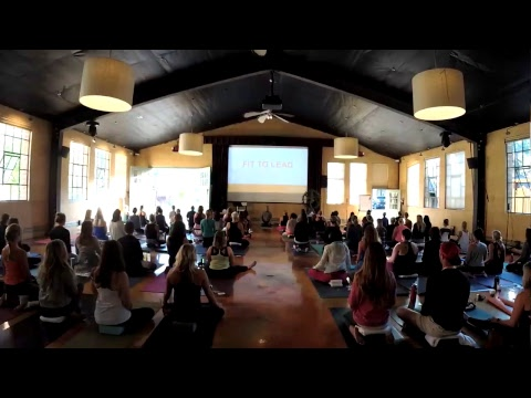 30 Minute Setup + Meditation With Baron Baptiste LIVE From Fit To Lead