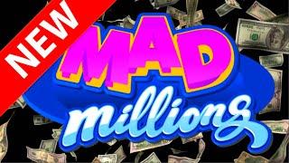 💥😻💥 NEW SLOT ALERT! 💥😻💥  MAD MILLIONS SLOT MACHINE!