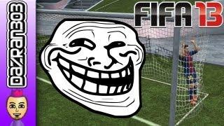 FIFA 13 TROLLING THE KEEPER Nintendo Wii U Gameplay