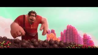 Ральф заступается за Ванилопу ... отрывок из мультфильма (Ральф/ Wreck-It Ralph)2012