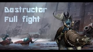 Drakensang Online : Destructor - Full fight (New Boss lvl 45)