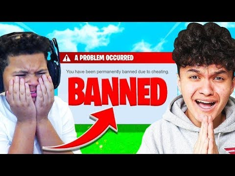 My Little Brother Reacts To FaZe Jarvis Getting BANNED From Fortnite... so sad 💔
