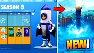 OMG THE SAISON 5 OF FORTNITE BATTLE ROYALE A FUITÉ!! (Rocket - Battle Pass Season 5 Leaked)