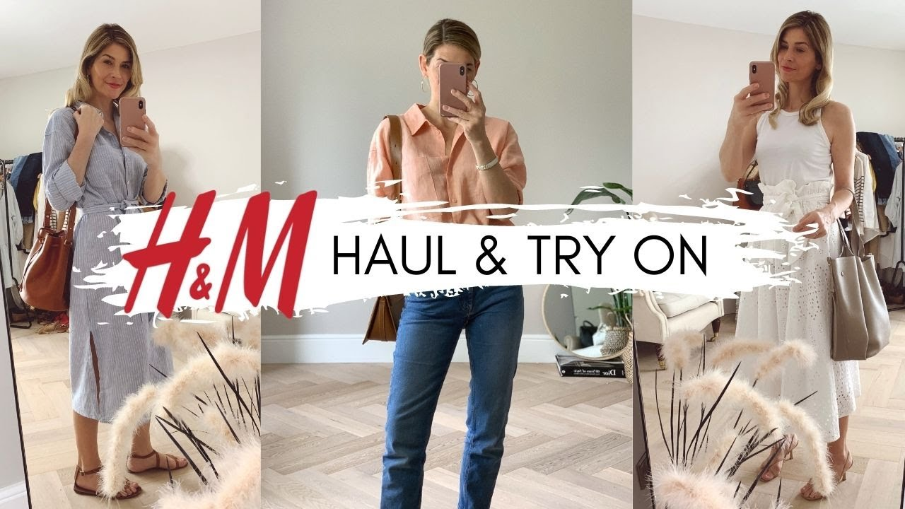 H&M HAUL AND TRY ON | Effortless Style | LOOKBOOK