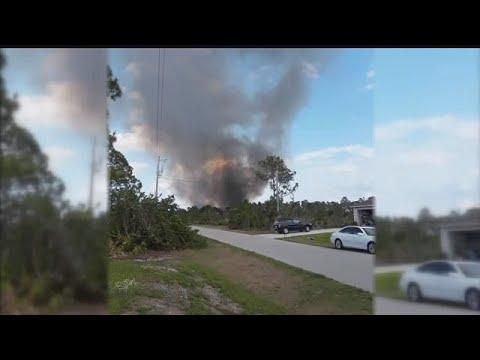 11 p.m. Report: 10-acre brush threatens homes in Lehigh Acres