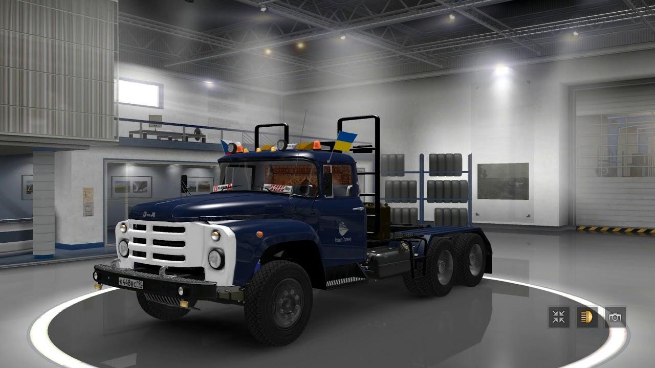 ETS2]Euro Truck Simulator 2 ZIL 130-131-133 - YouTube