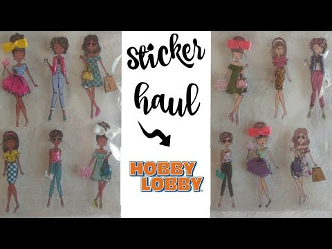 NEW FINDS AT HOBBY LOBBY!!!! DIVA STICKERS