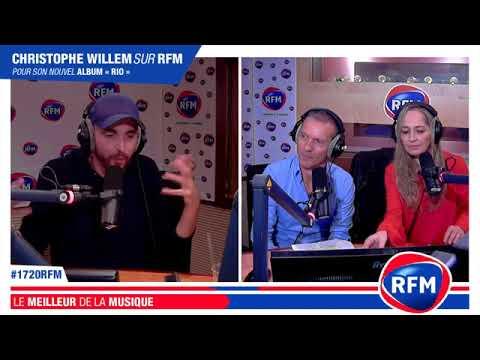 Christophe Willem en interview dans le 17-20 RFM