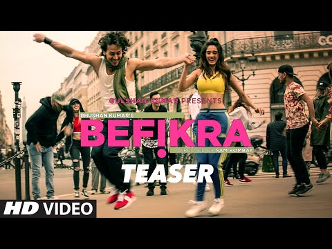 BEFIKRA Song Teaser  | Tiger Shroff, Disha Patani, Meet Bros | T-Series
