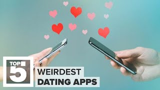 The weirdest dating apps available today (CNET Top 5)