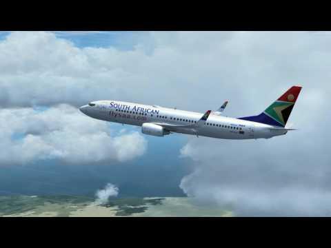 Flight from Luanda to Windhoek Boeing 737 800 SOUTH AFRICAN